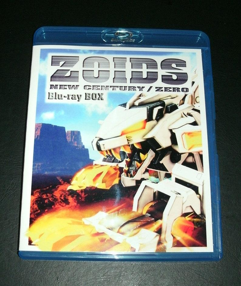 Zoids New Century / Zero 2001 Complete Series Blu-ray Set image 0