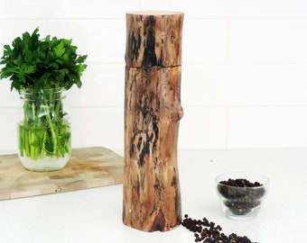 Wood Pepper Mill - Peppermill, salt grinder - Kitchen gift - Salt and pepper mill - mother's day gift- gift for him -  PM003