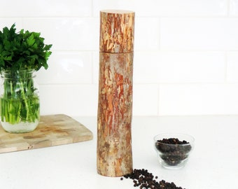 Wood Pepper Mill - Peppermill, salt grinder - Kitchen gift - Salt and pepper mill - mother's day gift- gift for him - PM015