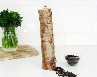 Wood Pepper Mill - Peppermill, salt grinder - Kitchen gift - Salt and pepper mill - mother's day gift- gift for him - PM017