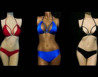 Exotic Dancer Stripper Clothes Stripperwear 2 piece scrunch butt dancer set