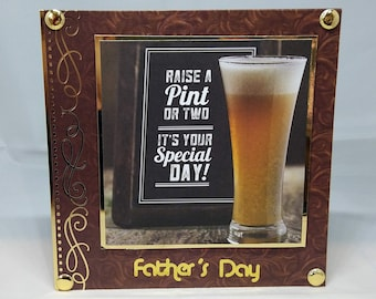 Father's Day Card - Dad/Daddy/Pa/Pop luxury unique quality special bespoke UK