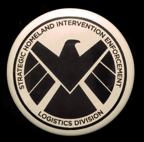 Button Agents of S.H.I.E.L.D. SHIELD Logo Agent Coulson ...
