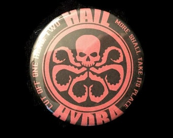 Magnet Hail Hydra Marvel Avengers Captain America Winter Soldier Agents SHIELD!