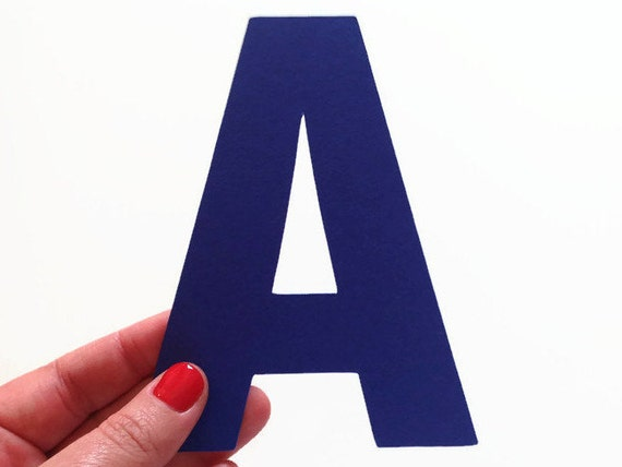 large 5 inch letters choose your own cardstock paper letters etsy