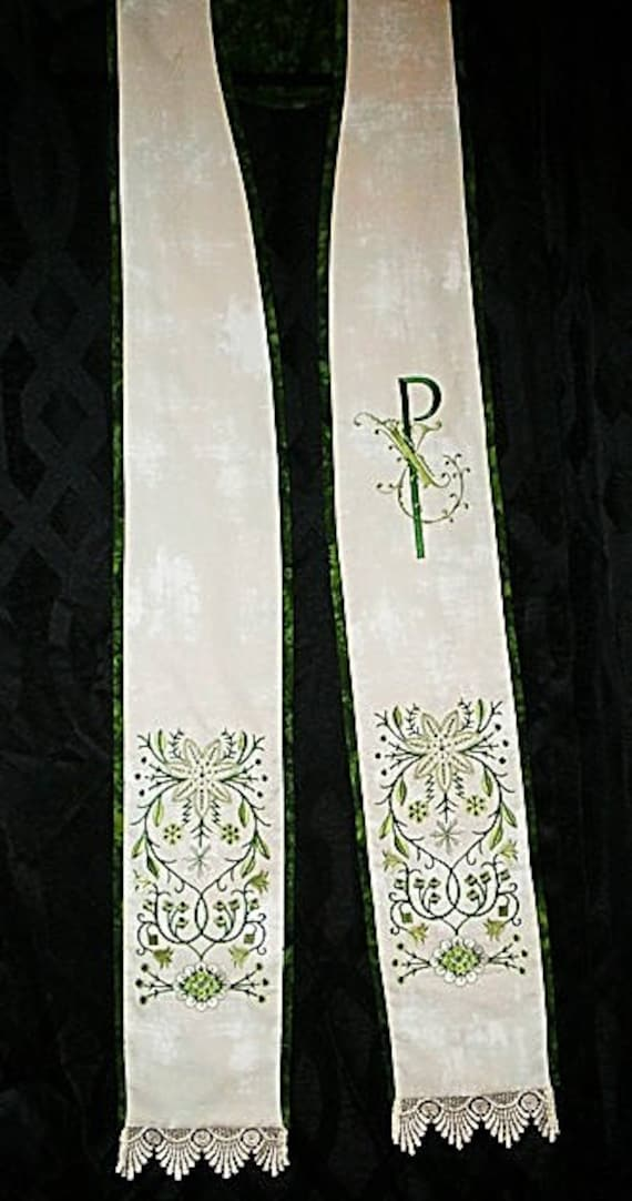 REVERSIBLE  Stole #171  by St. Clair Vestments
