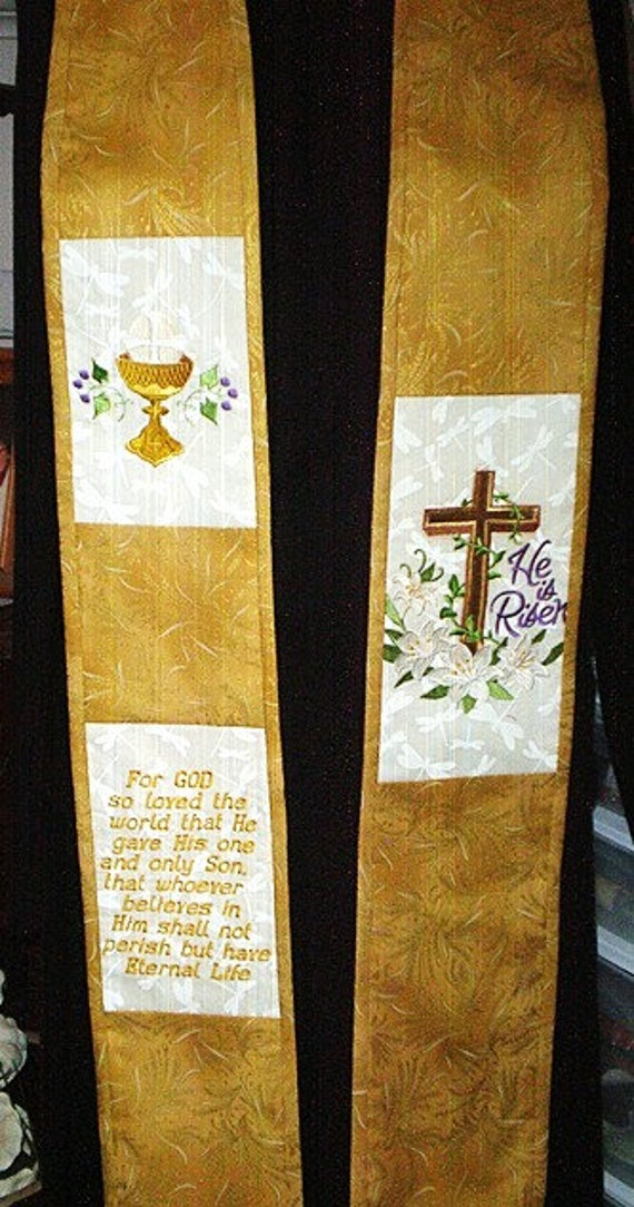 EASTER STOLE #551  by St Clair Vestments