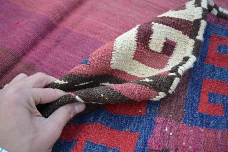 Vintage Kuchi Rug Fine Gorgeous Sofreh Antique Kilim 4/'1 x 4/'2 Ft Geometric Square Dastrkhan Kilim Sufreh Natural Dyed Color Rug Kilim