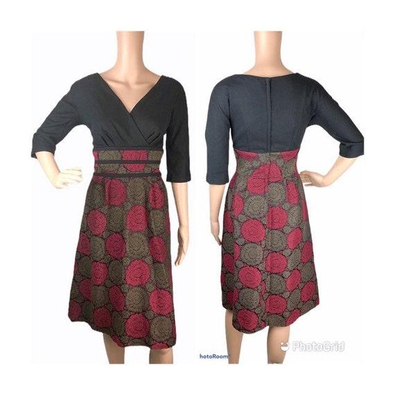 Miss Elliette Rose Black Dress Sm-Med