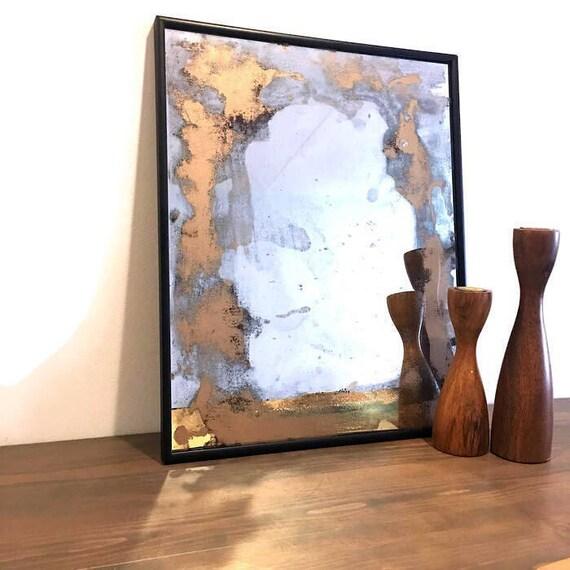 Beunruhigt Spiegel Antik Spiegel Dekorative Spiegel Antik Etsy