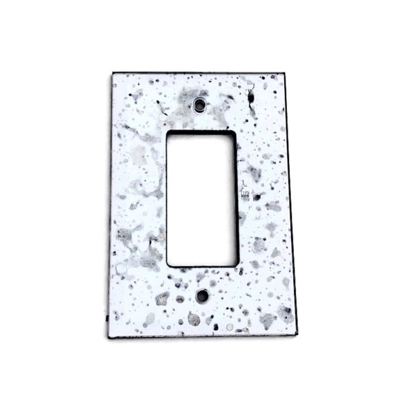 Rocker Light Switch >> Antiqued Mirror Rocker Light Switch Wall Plate Decora Switch Beveled Mirror Wall Cover Plate Gfi Wall Plate