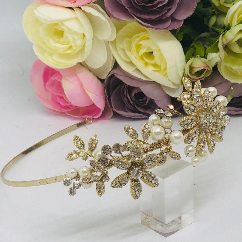 ESTELLE Chic Gold Headband