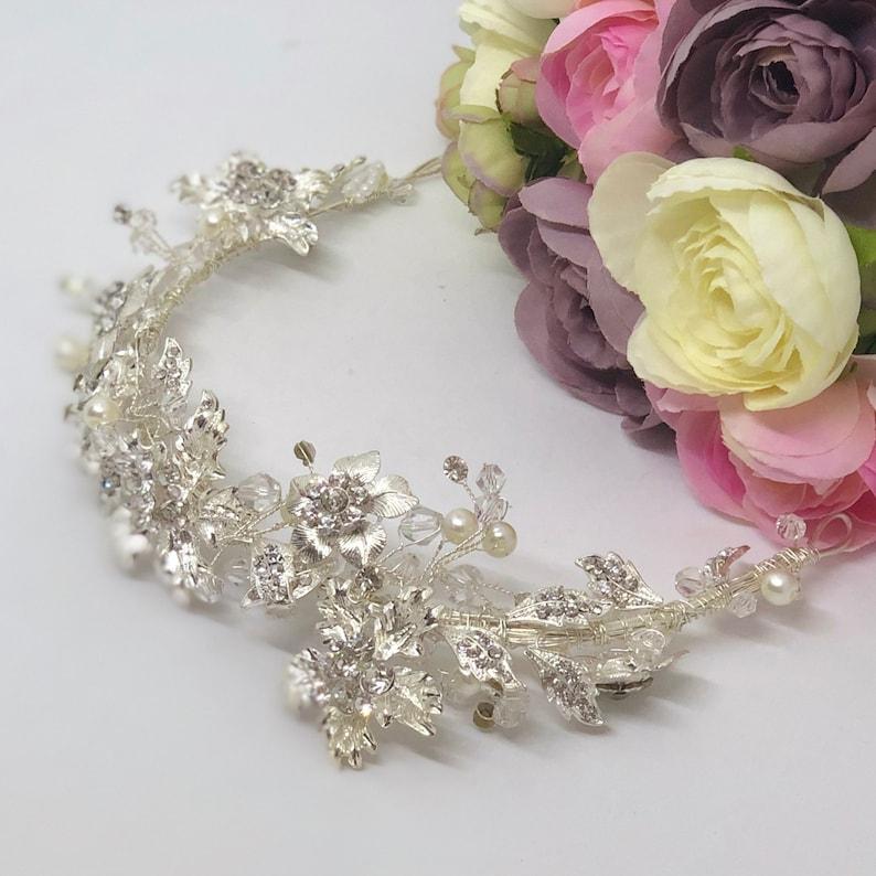 RUTH Crystal Bridal Wedding Head Piece