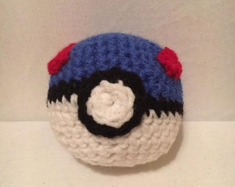 Crochet Poke Ball Etsy