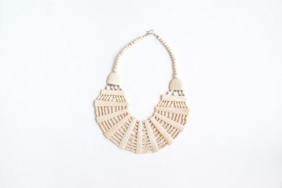 90503fdaec31 Hueso cuentas Multi Strand collar Tribal étnico Nepalese joyas