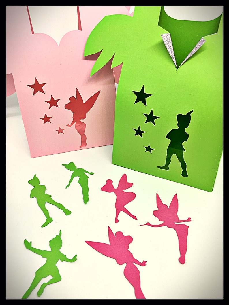 Scatters 150pcs 6 pack Mixed Peter Pan /& Tinkerbell Fairy Party Favours