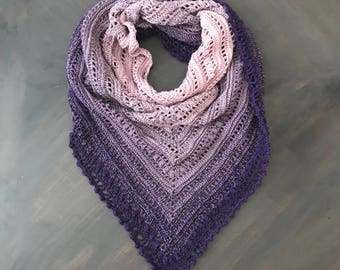 Crochet Shawl-Secret Paths Shawl