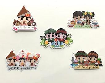 Group 2 Laminated Vinyl Stickers