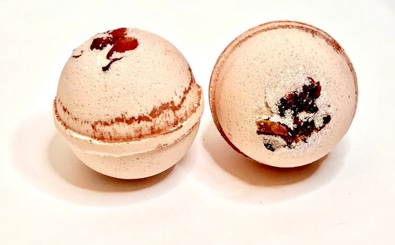 Rose Geranium Bath Bomb, Large Bath Bomb, Aromatherapy, Gifts for Her, Wife Gifts, Party Favors, Bridesmaid Gifts, Relaxation, Romantic Gift