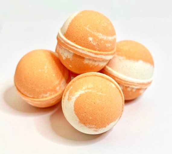 Creamsicle Bath Bombs, Summer Time Baby Shower, Popsicle, Kids Birthday, Orange Party Favors, Party Favors, Kid Safe Bath Bombs, Summer Gift