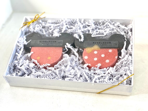 Mickey & Minnie Inspired Bath Bomb Gift Set - Kids Birthday Gifts - Disney Lover Gift - Children Bath Bombs - Fun Gifts for Kids - Disney