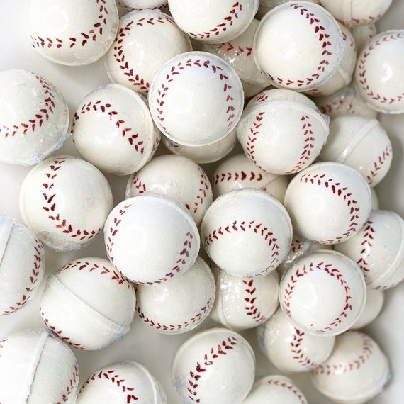 Baseball Bath Bombs, Baby Shower Favors, Baseball Gifts, Baseball Party, Boys Gifts, Baseball Baby Shower, Baseball Party Favors