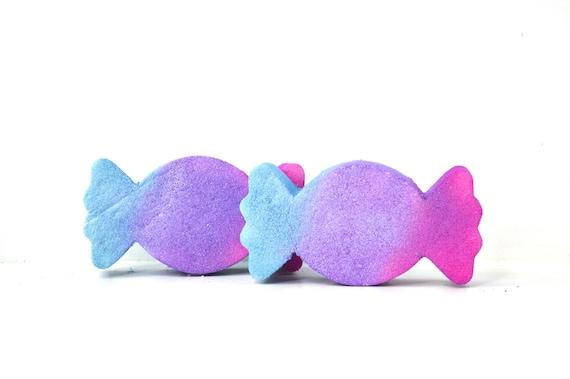 Candy Bath Bomb - Candy Wrapper Bath Bomb - Kids Bath Bomb - Kids Birthday Party Favor - Party Favors - Candy Themed Party - Cute Bath Bombs