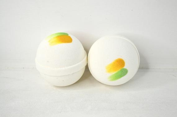 Pineapple Sage Bath Bomb - Large Bath Bomb - Bath Fizzy - Gifts for Her - Pineapple Bath Bomb - Sage Bath Bomb - Cute Bath Bombs