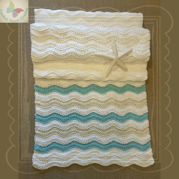 PDF Crochet Pattern To Make Your Own Coastal Table Runner   Etsy