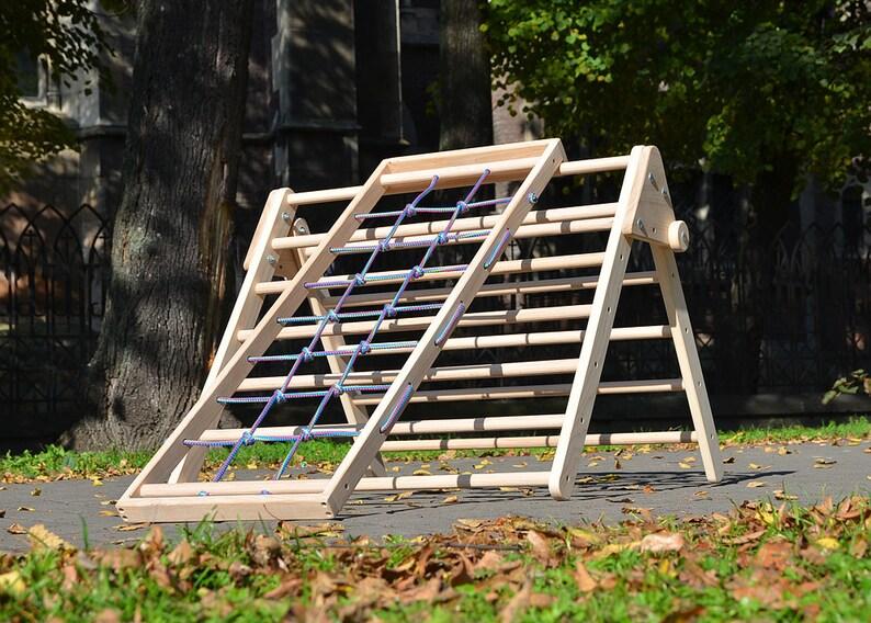 Klettergerüst Baby Holz : Pikler rampe net bergsteiger holz pickler dreieck und etsy