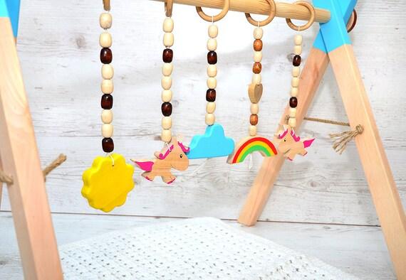 Klettergerüst Baby Holz : Klettergerüst baby holz: nachziehzug aus holz online kaufen mifus.