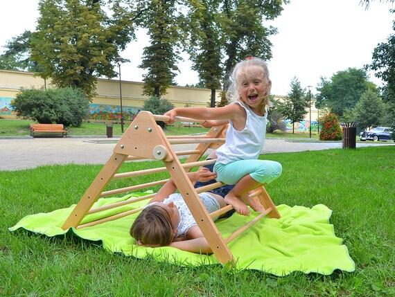 Pikler Trianglegrimpeur bois enfant bas en en âge KucTF1lJ3
