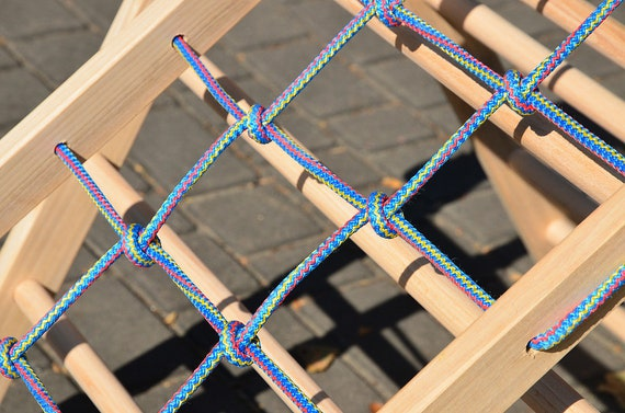 Klettergerüst Dreieck : Net climber unic rampe für pikler dreieck klettern etsy