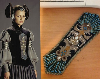 Star Wars Padme Amidala Cosplay Embroidered Panel Sc 1 St Etsy. image  number 20 of padme costume ... 4fe5656e2