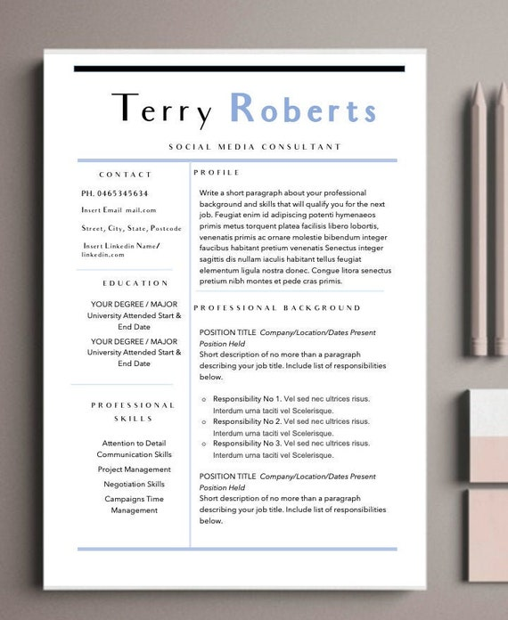 Administration Resume Template | Professional Resume Template for Word &  Cover Letter, Traditional | The "|570|696|?|ad2eab53eaefd83162c96ca5c2980b99|False|UNLIKELY|0.3387991189956665