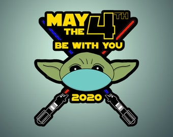 May The Fourth Be With You Shirt