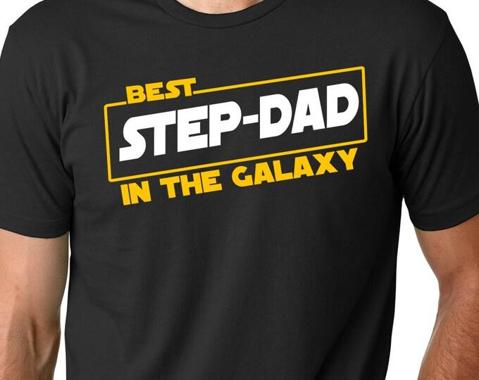 f5d5f5a6 Best Step Dad in the Galaxy Tee-Step Dad Shirt-Step Dad-Step