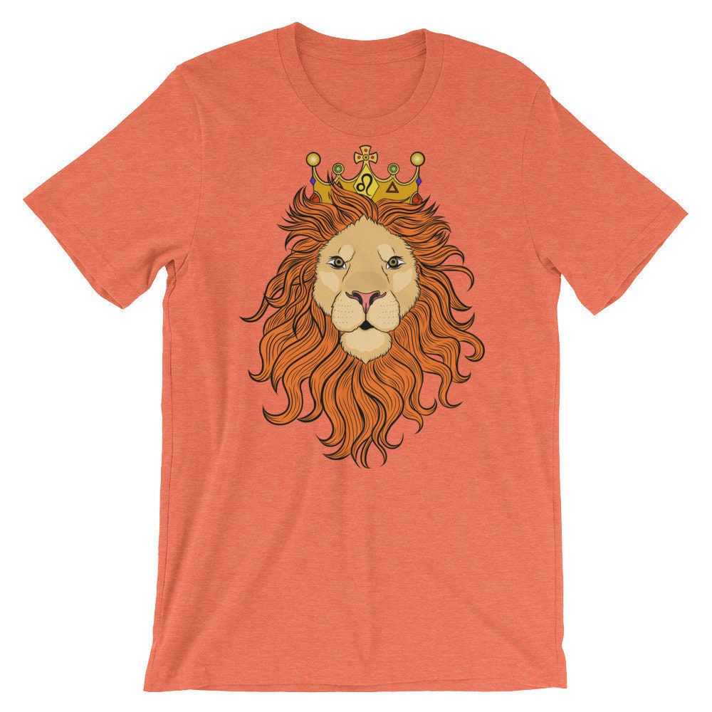 Leo Birthday Shirt Narnia Gift Lion Tshirt Zodiac Funny For