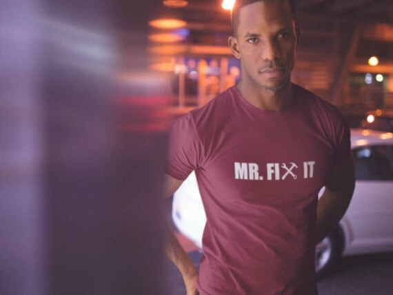 Mr Fix - It - papa chemise - Fix cadeau pour la fête des pères T-Shirt - cadeau pour lui - drôle de cadeau pour lui - chemise drôle - papa vie - cadeau pour papa - Daddy Tee 65f42d