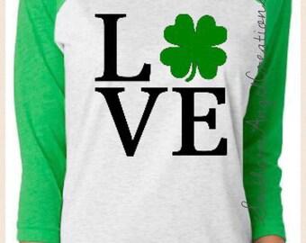 Shamrock Love Shirt