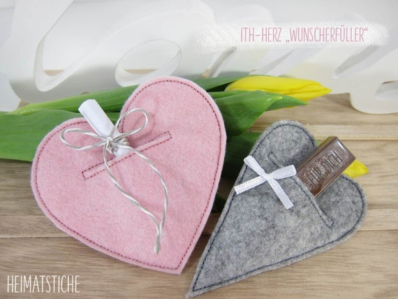 ITH Heart SPAR SET Wish fulfiller in Love-embroidery file