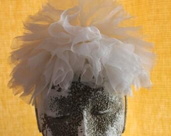 Headband, Bridal Headband, White headband