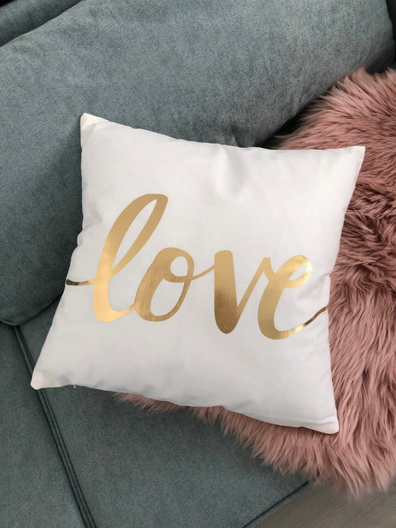 Letters Pillow by notNeutral | Throw