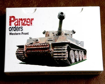 Panzer Orders Western Front - Card Wargame