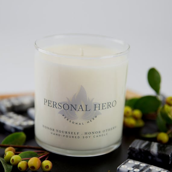 Personal Hero Candle Father Of The Bride Gift Mentor