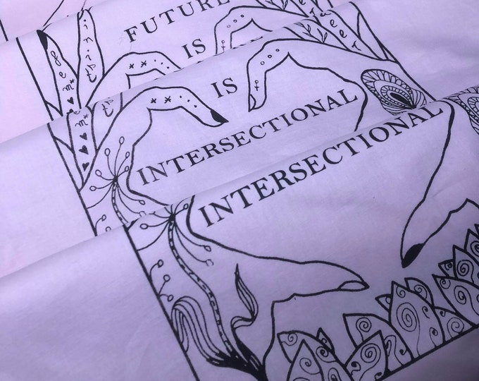 """Bag """"The future is intersectional"""""""