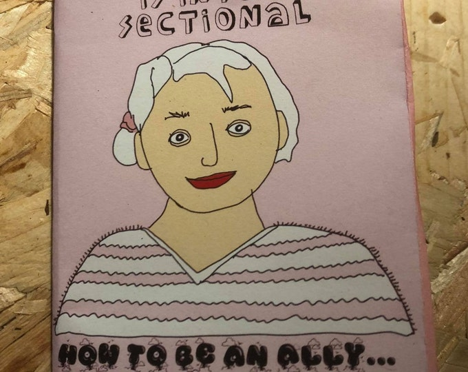 How to be an ally Mini DIY zine