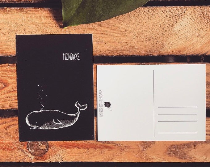 "Postcard ""Mondays"""