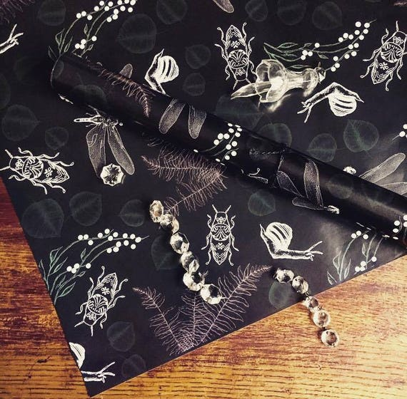 """Wrapping paper """"Woodland"""""""