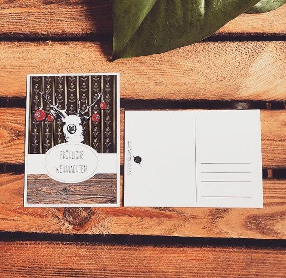 Christmas Card Deer